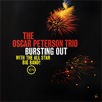 The Oscar Peterson Trio Oscar Peterson Trio. Bursting Out. With The All Star Big Band (LP) oscar peterson oscar peterson