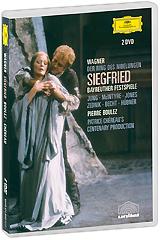 Wagner, Pierre Boulez: Siegfried (2 DVD) siegfried lenz minuta ciszy