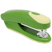 Степлер Fusion, для скоб №24/6, цвет: зеленый, желтый. IFS715GN/YL степлер index 20 листов