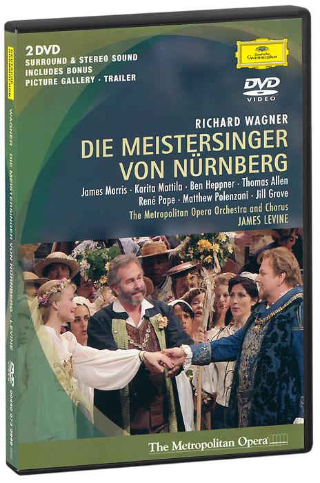 Wagner, James Levine: Die Meistersinger Von Nurnberg (2 DVD) hugo dinger die meistersinger von nurnberg eine studie