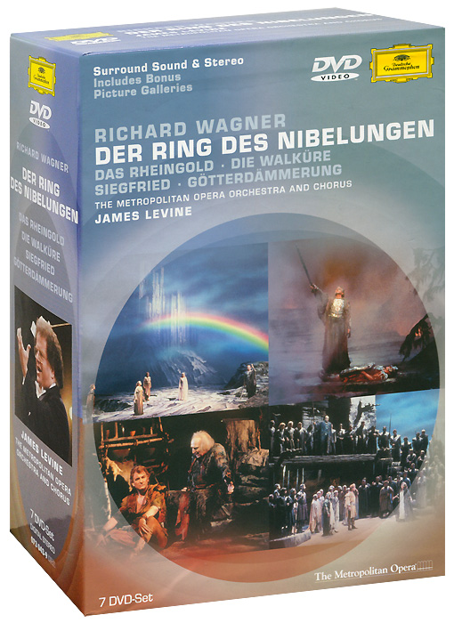 Wagner, James Levine: Der Ring Des Nibelungen (7 DVD) wagner james levine der ring des nibelungen 8 dvd