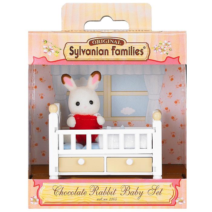 """Sylvanian Families Игровой набор """"Малыш и детская кроватка"""""""