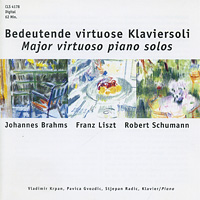 Brahms / Liszt / Schumann. Bedeutende Virtuose Klaviersoli николай петров nikolai petrov plays brahms schumann