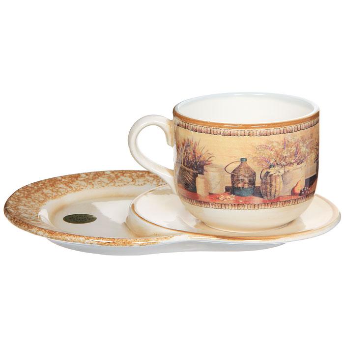 Набор чайный Натюрморт, 2 предмета цена