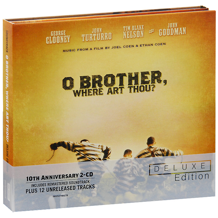 O Brother, Where Art Thou? Deluxe Edition (2 CD) cd art of noise in visible silence deluxe