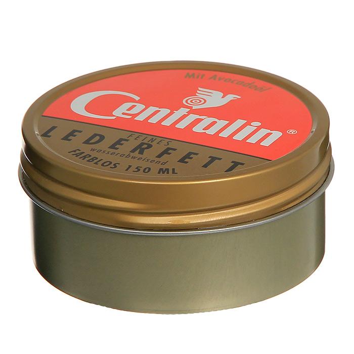 Жир для кожаной обуви Centralin, цвет: бесцветный, 150 мл жир для кожаной обуви centralin цвет бесцветный 150 мл уцененный товар 3