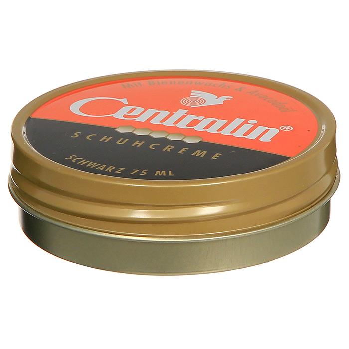 Крем для обуви Centralin, цвет: черный, 75 мл жир для кожаной обуви centralin цвет бесцветный 150 мл уцененный товар 3