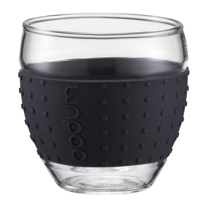 Набор бокалов Bodum Pavina 2 шт, 0,35л, цвет: черный 11185-01