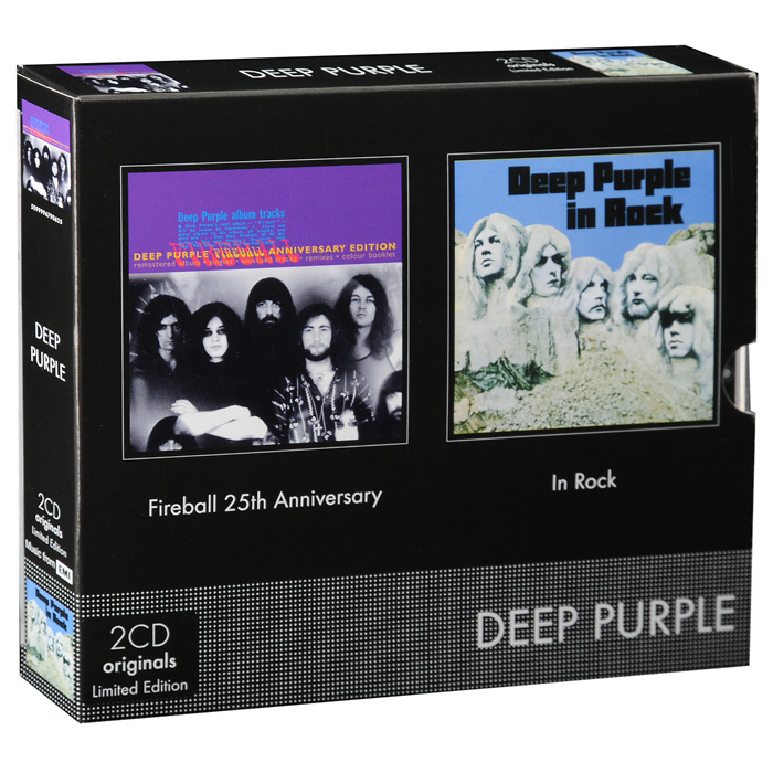 Deep Purple Deep Purple. Fireball 25th Anniversary / In Rock. Limited Edition (2 CD) cd deep purple infinite
