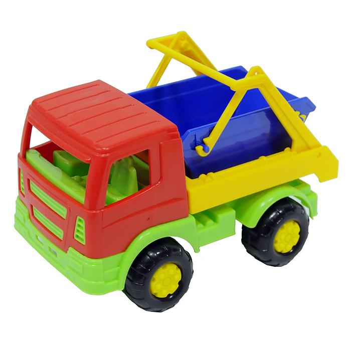Автомобиль-коммунальная спецмашина Салют, цвет в ассортименте автомобиль коммунальная спецмашина полесье кнопик красная кабина