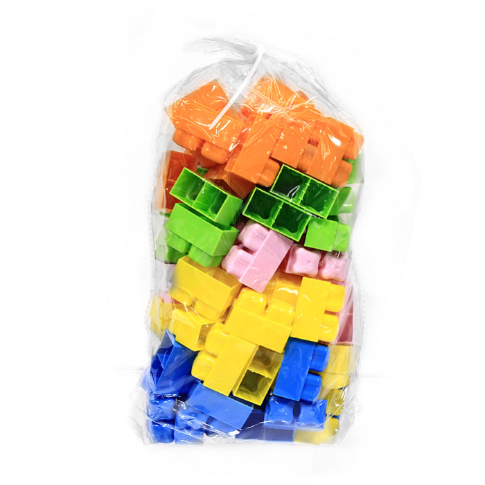 """Конструктор """"Малютка"""", 80 элементов, цвет в ассортименте"""