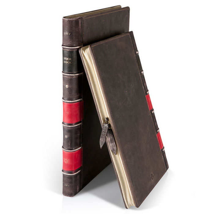 Twelve South BookBook кожаный чехол-книга дляMacBook Air 13'', Black аксессуар чехол twelve south pencilsnap для apple pencil brown 12 1747