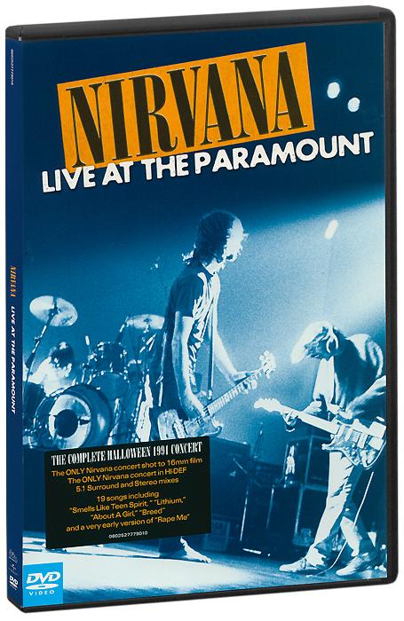 Nirvana: Live At The Paramount nirvana nirvana live at the paramount 2 lp
