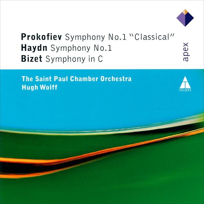 цена Хью Волфф,The Saint Paul Chamber Orchestra Prokofiev / Haydn / Bizet. First Symphonies онлайн в 2017 году
