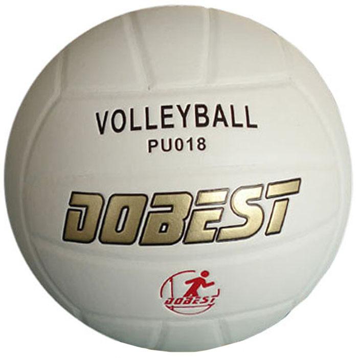 Мяч волейбольный Dobest. PU018 мяч для н т dobest ba 02 6шт уп