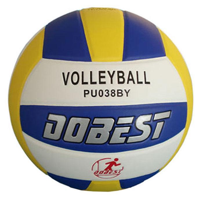 Мяч волейбольный Dobest. PU038 мяч для н т dobest ba 01 3шт уп