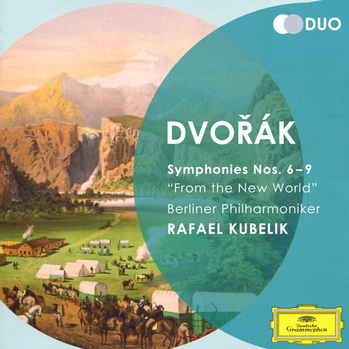 Berliner Philharmoniker,Рафаэль Кубелик Rafael Kubelik. Dvorak. Symphonies Nos. 6-9 (2 CD) hifi 25va mos linear power supply lps dc 5v 9v 12v 15v 18v 24v choose