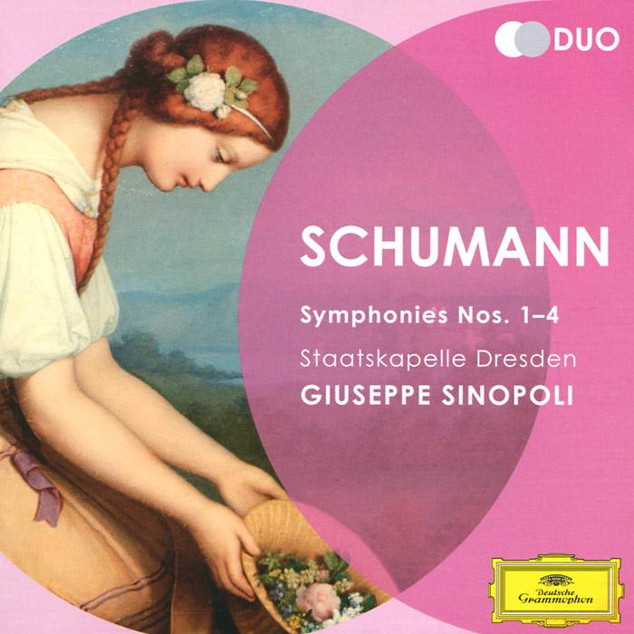Джузеппе Синополи,Staatskapelle Dresden Orchestra Giuseppe Sinopoli. Schumann. Symphonies Nos. 1-4 (2 CD) david dresden cd