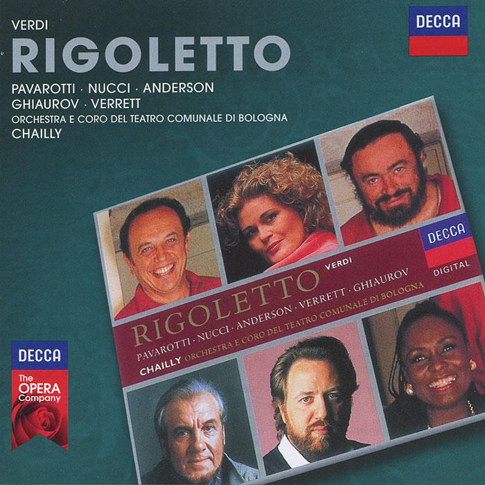 Luciano Pavarotti, Leo Nucci, June Anderson, Orchestra E Coro Del Teatro Comunale Di Bologna, Riccardo Chailly. Verdi. Rigoletto (2 CD) риккардо мути ренато брузон андреа рост роберто аланья роберто габбиани riccardo muti verdi rigoletto 2 cd