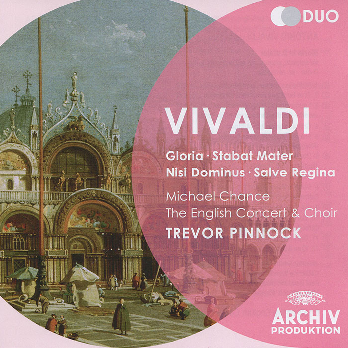 Тревор Пиннок,The English Concert The English Concert & Choir, Trevor Pinnock. Vivaldi. Gloria / Stabat Mater / Nisi Dominus (2 CD) тарелка concert zildjian zht zht390