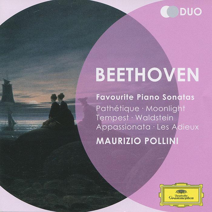 Маурицио Поллини Maurizio Pollini. Beethoven. Favourite Piano Sonatas (2 CD)