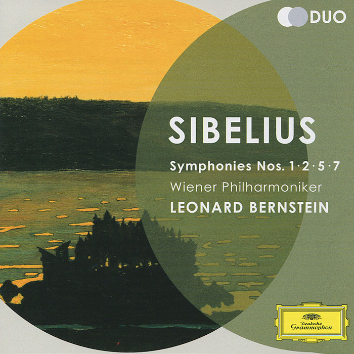 Wiener Philharmoniker Leonard Bernstein. Sibelius. Symphonies Nos.1, 2, 5 & 7 (2 CD) mahler leonard bernstein symphonies nos 1 2