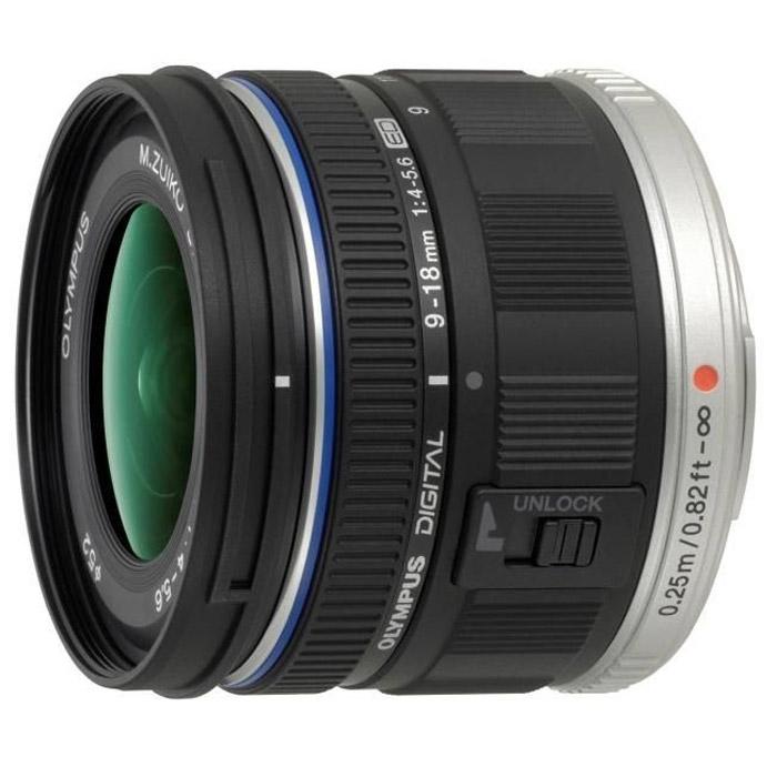 Объектив Olympus Zuiko Digital ED 9-18mm 1:4.0-5.6 (EZ-M918) цена и фото