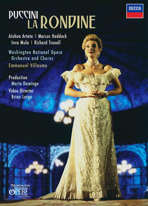 Puccini, Emmanuel Villaume: La Rondine rondine group naturalia 15x100