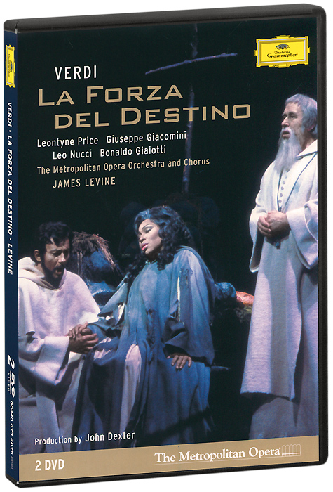 Verdi, James Levine: La Forza Del Destino (2 DVD) verdi james levine luisa miller