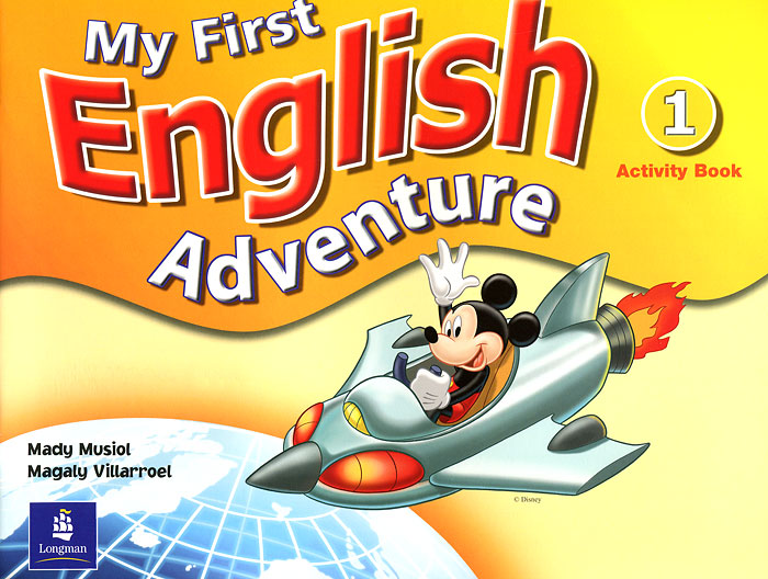 My First English Adventure: Activity Book 1 my first english adventure 2 starter flashcards набор из 22 карточек