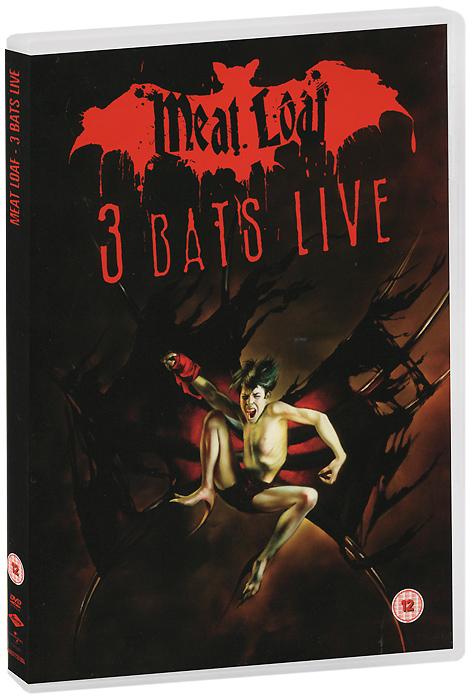 Meat Loaf: 3 Bats Live (2 DVD) мит лоуф meat loaf bat out of hell ii back into hell