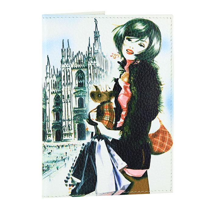 Обложка для паспорта Perfecto Милан. PS-GL-106 обложка для паспорта printio милан