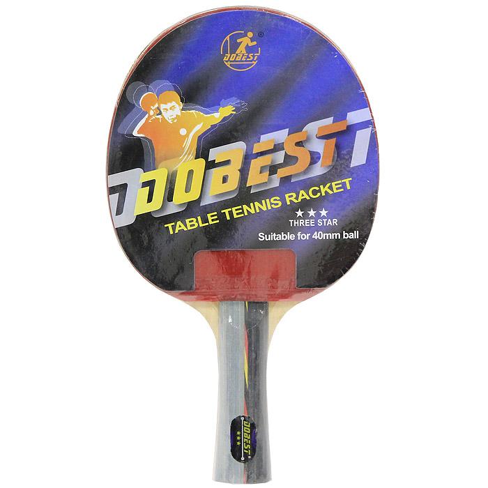 Ракетка для настольного тенниса Dobest. 3 Star ракетка для настольного тенниса dobest 2 star