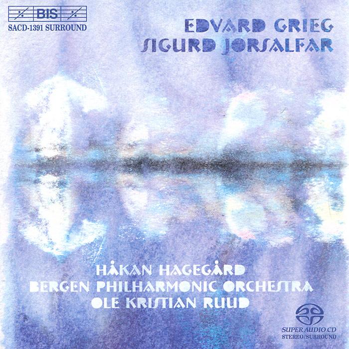 Bergen Philharmonic Orchestra,Оле Кристиан Рууд Bergen Philharmonic Orchestra, Ole Kristian Ruud. Grieg. Sigurd Jorsalfar (SACD) цена