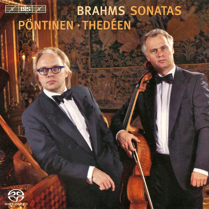 Торлиф Тедин,Роланд Понтинен Torleif Thedeen. Roland Pontinen. Brahms. Cello Sonatas (SACD) mstislav rostropovich brahms the cello sonatas