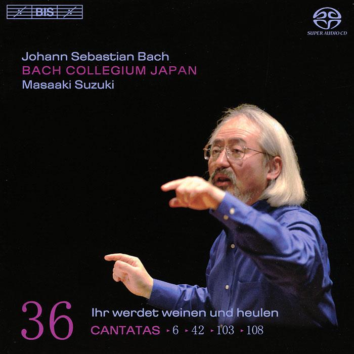 Bach Collegium Japan Chorus & Orchestra,Масааки Сузуки Japan. Masaaki Suzuki. Bach. Cantatas 36 (SACD)
