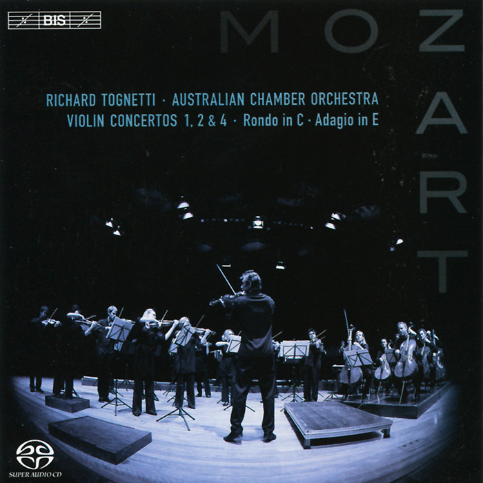 Ричард Тогнетти Richard Tognetti. Mozart. Violin Concertos Nos 1,2 & 4 Etc. (SACD) балаклава huppa huppa hu009cgckdf8