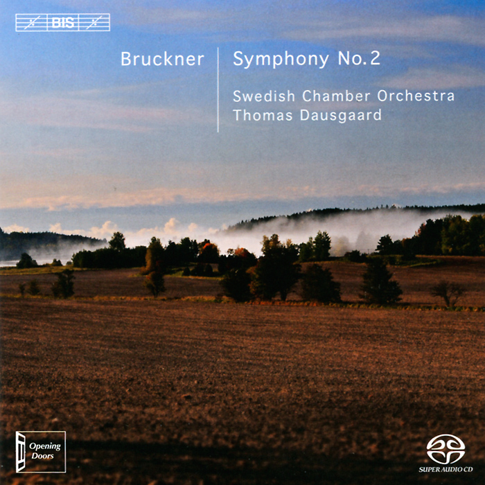 Swedish Chamber Orchestra,Томас Даусгард Swedish Chamber Orchestra, Thomas Dausgaard. Bruckner. Symphony No. 2 (SACD) estonian national symphony orchestra лаури вайнма ostrobothnian chamber orchestra марика ярви tallinn chamber orchestra eduard tubin music for strings concertino concerto for flute