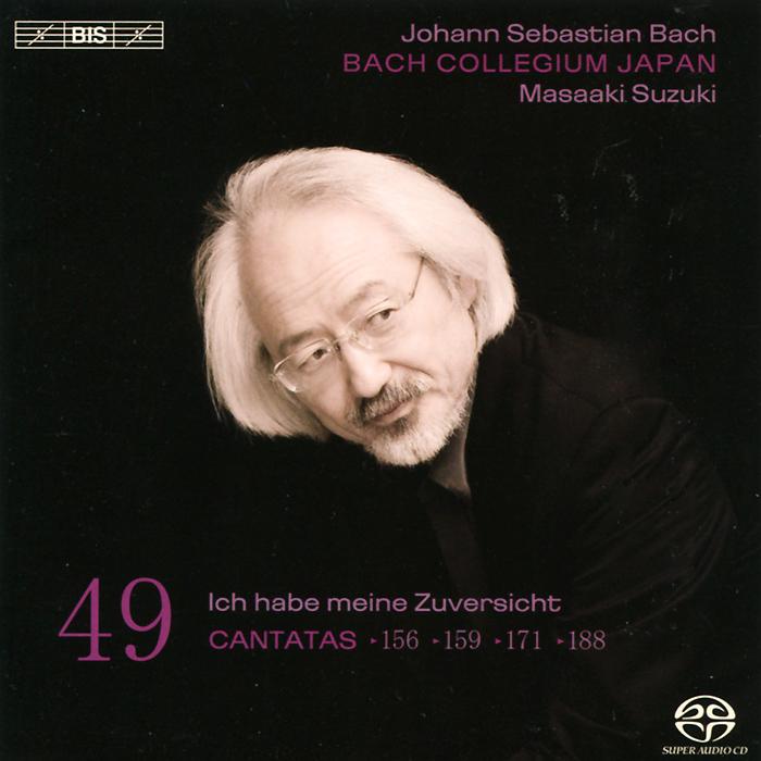 Bach Collegium Japan Chorus & Orchestra,Масааки Сузуки,Рэйчел Николс,Робин Блазе,Герд Тюрк Bach Collegium Japan. Masaaki Suzuki. Bach. Cantatas 49 (SACD)