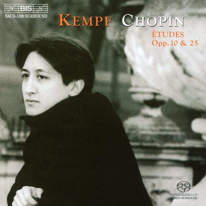 Фредди Кемпф Freddy Kempf. Chopin. Etudes, Op. 10 & Op. 25 (SACD) цена и фото