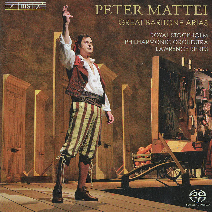 Питер Маттей,Лоренс Ренес,Royal Stockholm Philharmonic Orchestra Peter Mattei. Great Baritone Arias (SACD)