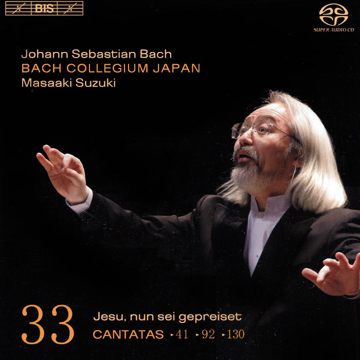 Bach Collegium Japan Chorus & Orchestra,Масааки Сузуки,Юкари Ноношита,Робин Блазе,Доминик Вернер Bach Collegium Japan. Masaaki Suzuki. Bach. Cantatas 33 (SACD)