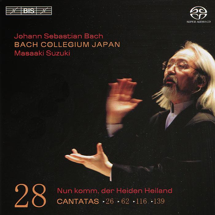 Bach Collegium Japan Chorus & Orchestra,Масааки Сузуки,Юкари Ноношита,Робин Блазе,Макото Сакурада,Питер Кооу Bach Collegium Japan, Masaaki Suzuki. Bach. Cantatas 28 (SACD)