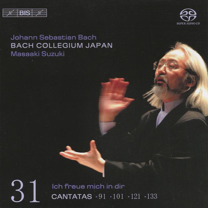 Bach Collegium Japan Chorus & Orchestra,Масааки Сузуки,Юкари Ноношита,Робин Блазе,Герд Тюрк,Питер Кооу Bach Collegium Japan, Masaaki Suzuki. Bach. Cantatas 31 (SACD)