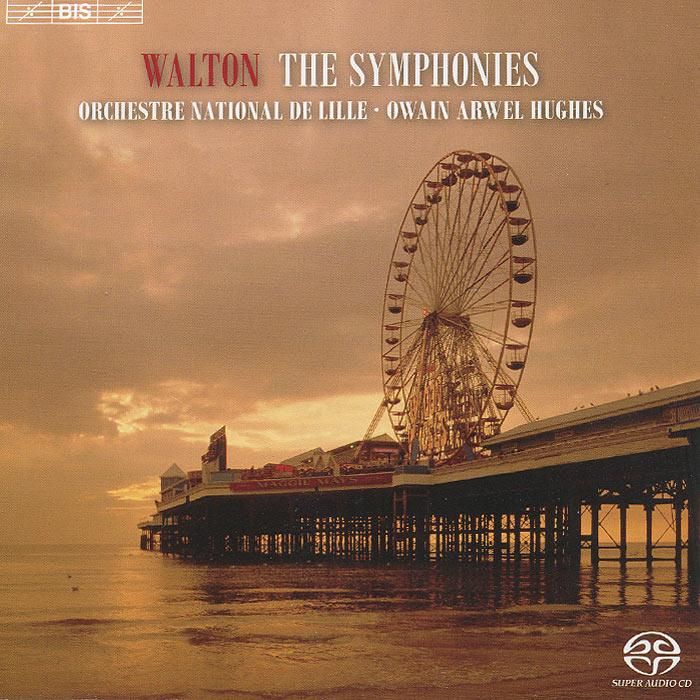 Оуайн Авел Хьюс,Orchestre National De Lille Orchestre National De Lille. Owain Arwel Hughes. Walton. Symphonies Nos.1 & 2 (SACD) lille losc sm caen