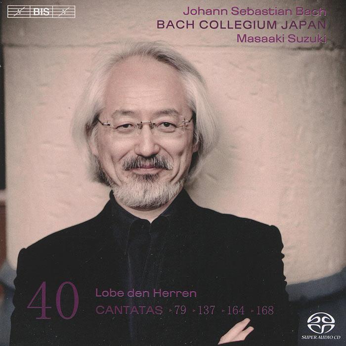 Bach Collegium Japan Chorus & Orchestra,Масааки Сузуки,Юкари Ноношита,Робин Блазе,Макото Сакурада,Питер Кооу Bach Collegium Japan. Masaaki Suzuki. Bach. Cantatas 40 (SACD)