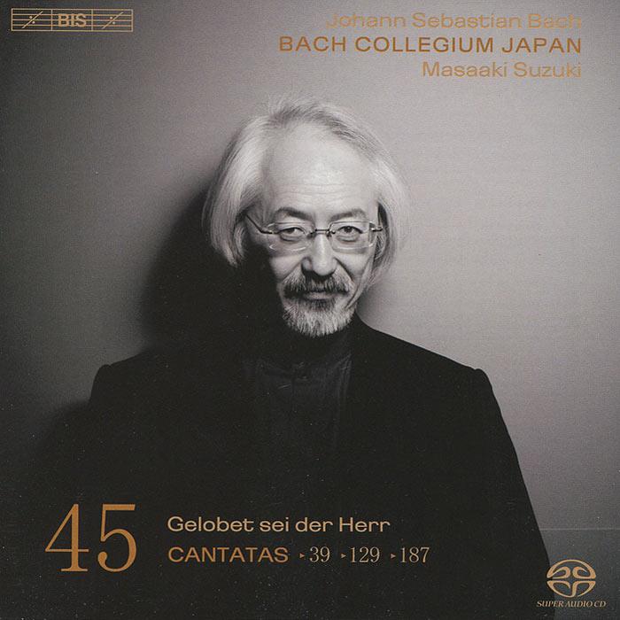 Bach Collegium Japan Chorus & Orchestra,Масааки Сузуки,Юкари Ноношита,Робин Блазе,Питер Кооу Bach Collegium Japan, Masaaki Suzuki. Bach. Cantatas 45 (SACD)
