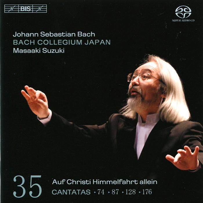 Bach Collegium Japan Chorus & Orchestra,Масааки Сузуки,Юкари Ноношита,Робин Блазе,Макото Сакурада,Питер Кооу Bach Collegium Japan. Masaaki Suzuki. Bach. Cantatas 35 (SACD)