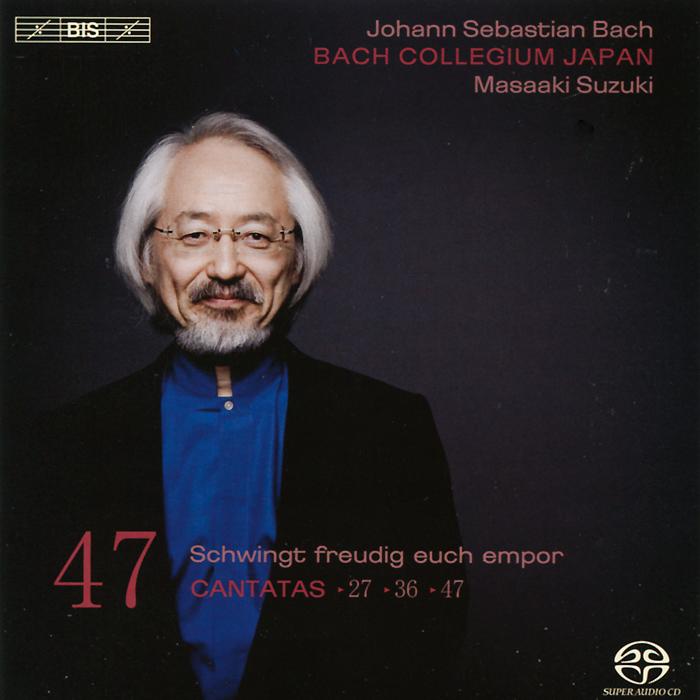 Bach Collegium Japan Chorus & Orchestra,Масааки Сузуки,Робин Блазе,Сатоши Мицукоши,Питер Кооу Bach Collegium Japan. Masaaki Suzuki. Bach. Cantatas 47 (SACD)