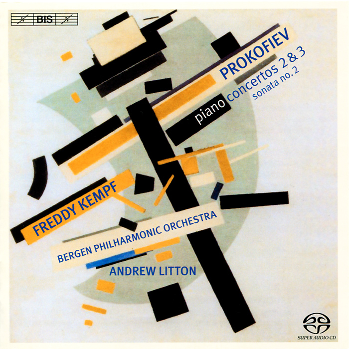 Фредди Кемпф,Bergen Philharmonic Orchestra,Эндрю Лайттон Freddy Kempf. Prokofiev. Piano Concertos Nos. 2 & 3 (SACD)